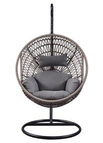 Image for Vasant Rope Patio Swing Chair with Stand