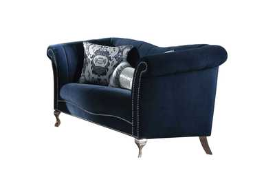 Image for Jaborosa Blue Velvet Loveseat