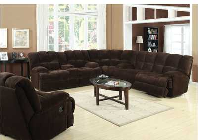 Image for Ahearn Chocolate Champion Sofa