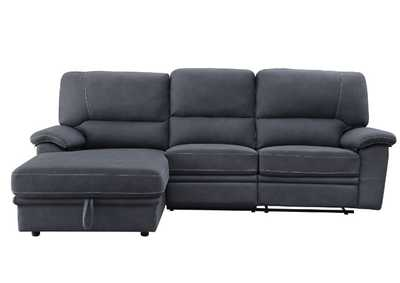 Image for Trifora Gray Reclining Sectional Sofa w/Storage