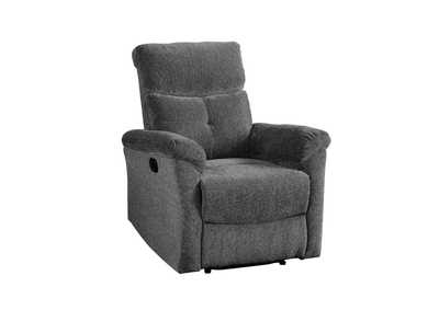 Image for Treyton Gray Chenille Recliner