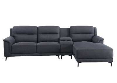 Image for Walcher Gray Sectional Sofa w/Storage