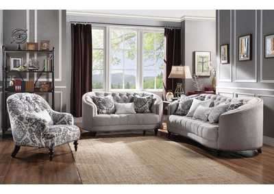 Image for Saira Gray Sofa w/5 Pillow