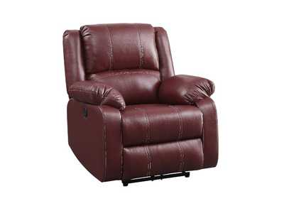 Image for Zuriel Red Power Recliner