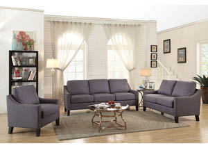 Image for Zapata Gray Loveseat