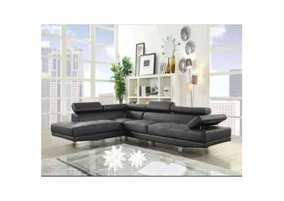 Image for Connor Black Sectional Sofa