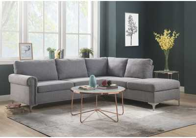 Melvyn Gray Fabric Sectional Sofa