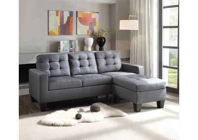 Image for Earsom Gray Sectional Sofa