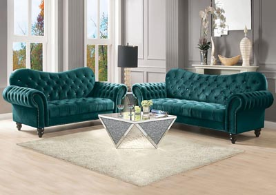 Image for Iberis Green Sofa and Loveseat
