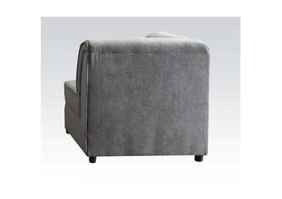Image for Bois Gray Wedge w/2 Pillow (Reversible)