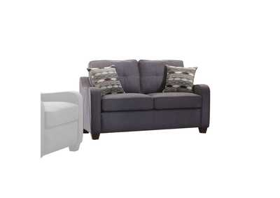 Cleavon II Gray Linen Loveseat,Acme