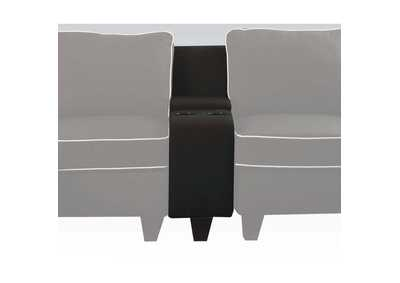 Image for Kelliava Black Fabric Console