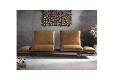Image for Narech Nutmeg Top Grain Leather Sofa