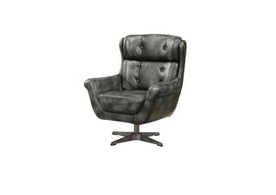 Image for Asotin Vintage Black Accent Chair