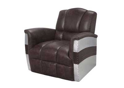 Image for Brancaster Retro Brown Accent Chair