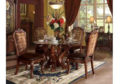 Image for Dresden Cherry Dining Table w/Single Pedestal