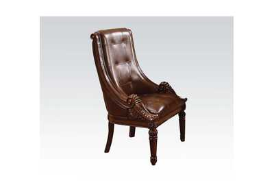 Winfred PU & Cherry Side Chair