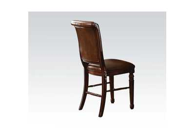 Image for Winfred PU & Cherry Counter Height Chair