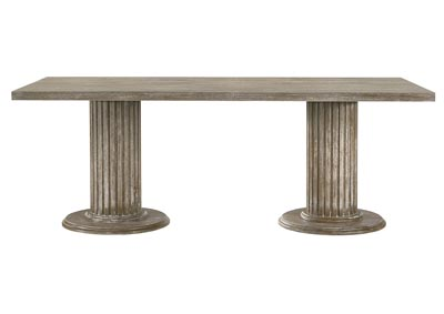 Image for Gabrian Reclaimed Gray Dining Table