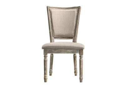 Gabrian Reclaimed Gray Side Chair (Set of 2)