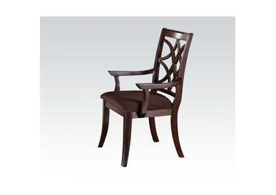 Keenan Brown Arm Chair (Set-2)