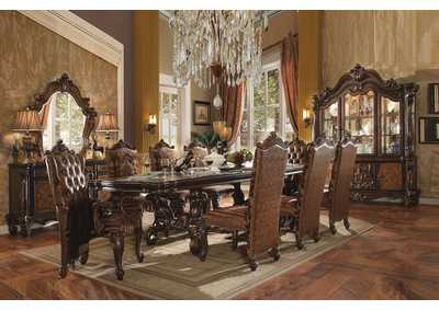 Image for Versailles Brown/Cherry Oak Side Chair (Set of 2)