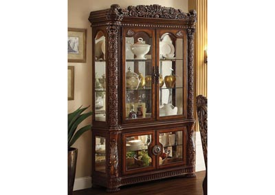 Image for Vendome Cherry Curio Cabinet