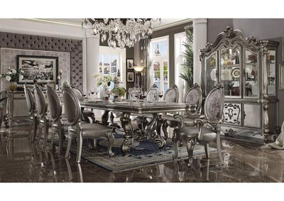 Image for Versailles Antique Platinum China Cabinet