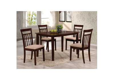 Image for Samuel Espresso Dining Set (Set of 5)