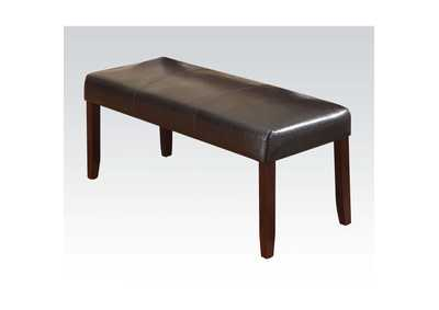 Image for Idris Espresso PU Dining Bench