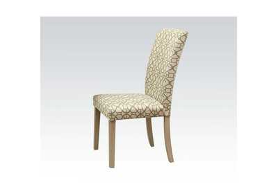 Image for Glassden Green & Light Oak Side Chair