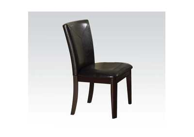 Image for Gable Espresso PU & Espresso Side Chair