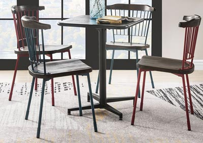 Olson Black Folding Table