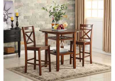 Image for Tartys Cherry Counter Chair (Set of 2)