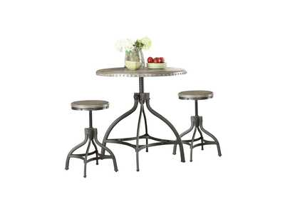 Fatima Counter Dining Set (Set of 3)