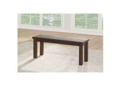 Image for Nabirye Dark Oak Bench