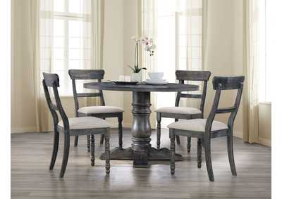 Leventis Weathered Gray Dining Table