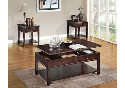Image for Malachi Walnut End Table