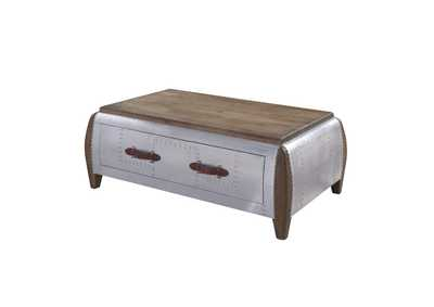 Image for Brancaster Antique Oak Coffee Table