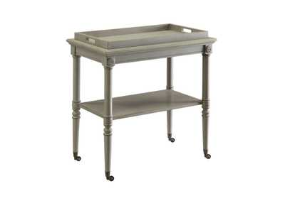 Image for Frisco Antique Slate Tray Table