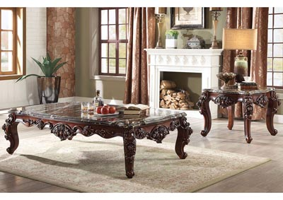 Image for Forsythia Marble/Walnut Coffee Table
