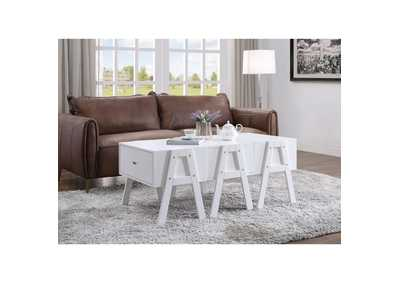 Lonny White Coffee Table