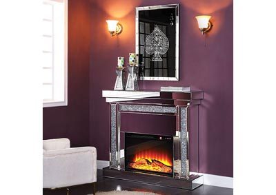 Image for Noralie Eggplant Fireplace