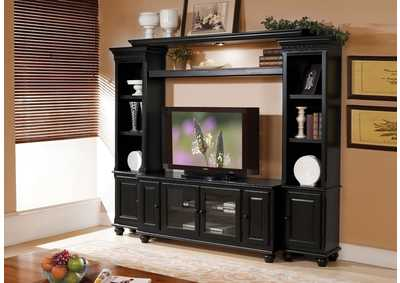 Image for Ferla Black Entertainment Center