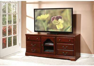 Image for Hercules Cherry TV Stand