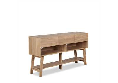 Image for Ariza Rustic Natural TV Stand