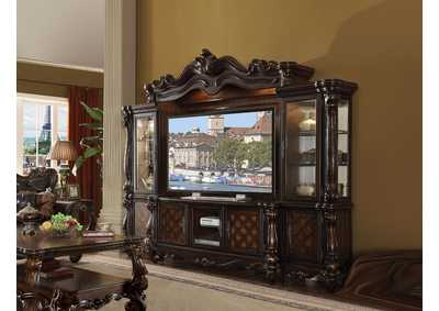 Versailles Cherry Oak Entertainment Center