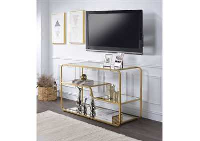 Image for Astrid Gold/Mirror TV Stand
