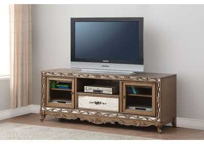 Orianne Antique Gold TV Stand