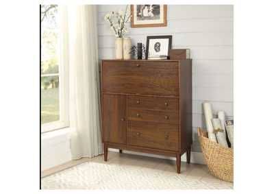 Image for Mullener Walnut Office Armoire